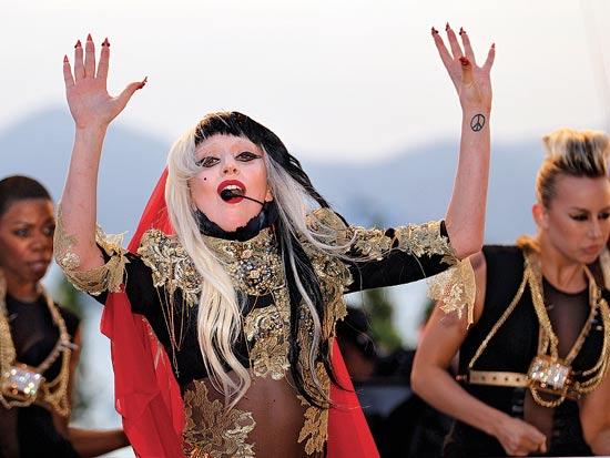 ליידי גאגא / צלם: בלומברג